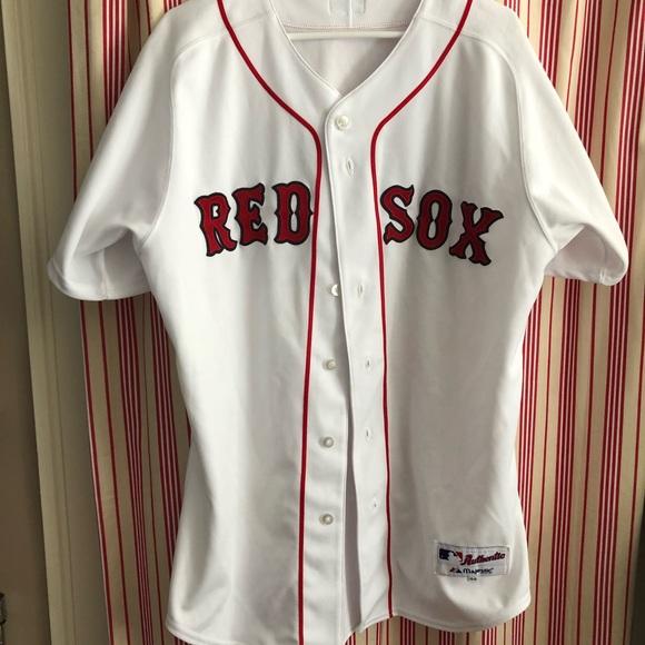 sale retailer d4ee9 6d8df Curt Schilling Red Sox Authentic Jersey
